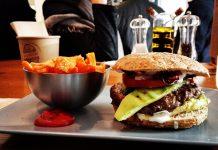 Gesunde Ernährung, Fast Food, Burger, Vegan,